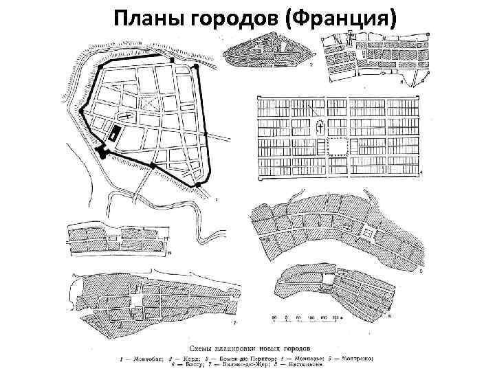 Планы городов (Франция)
