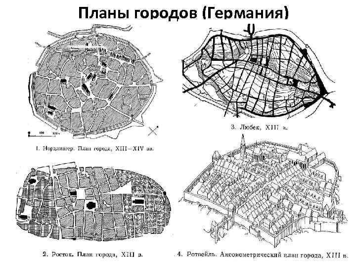 Планы городов (Германия)