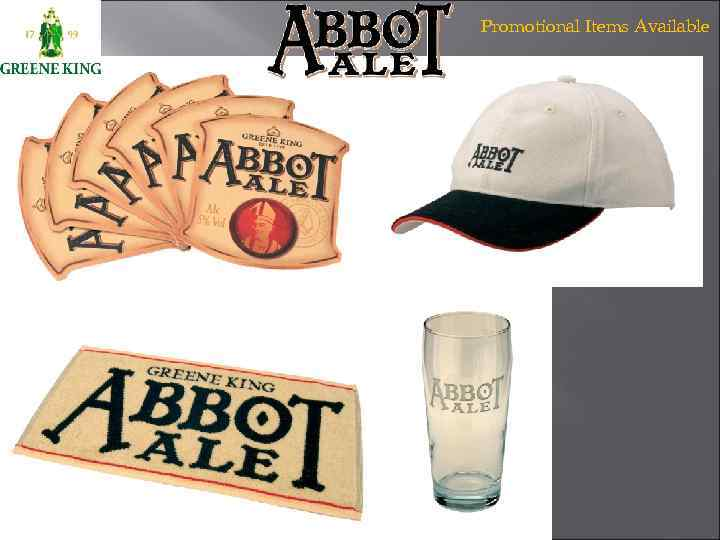 Promotional Items Available