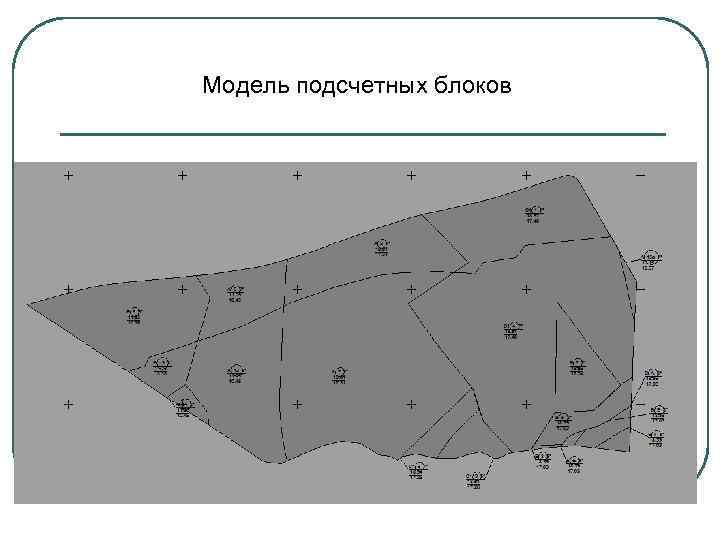 Модель подсчетных блоков