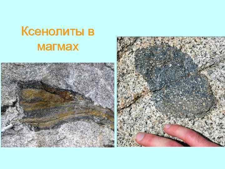 Ксенолиты в магмах