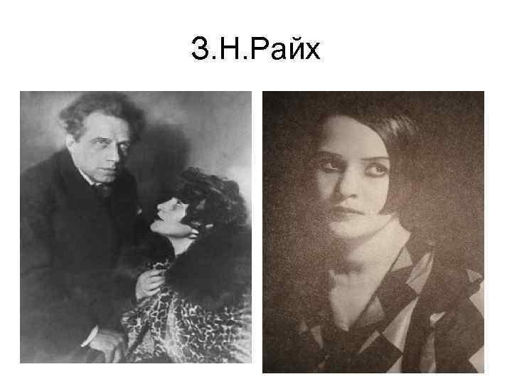 З. Н. Райх