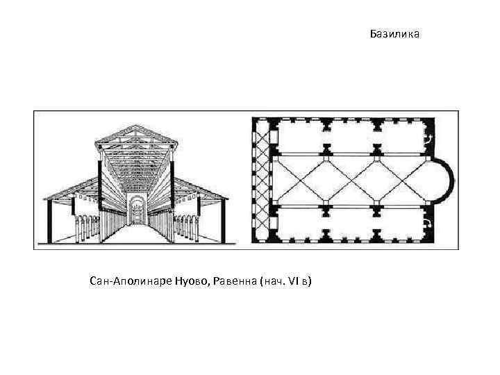 Базилика Сан-Аполинаре Нуово, Равенна (нач. VI в)