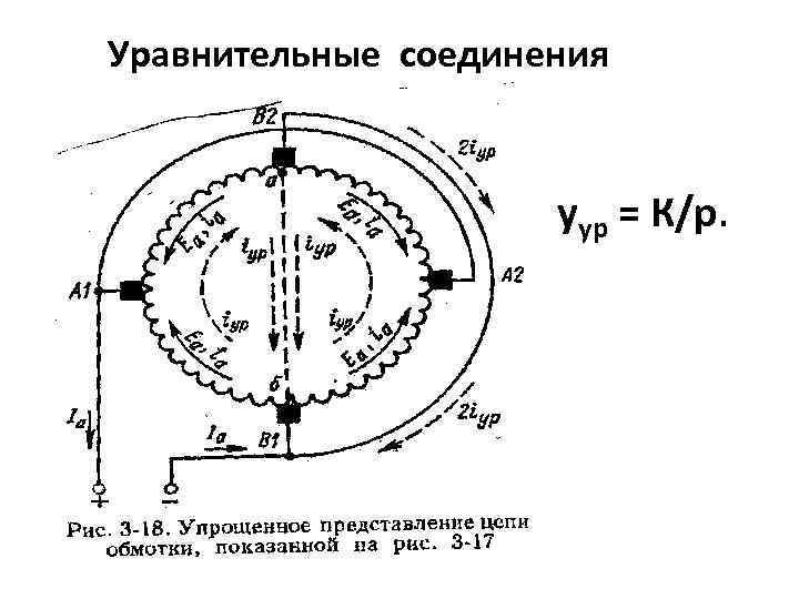 Уравнительные соединения уур = К/р.