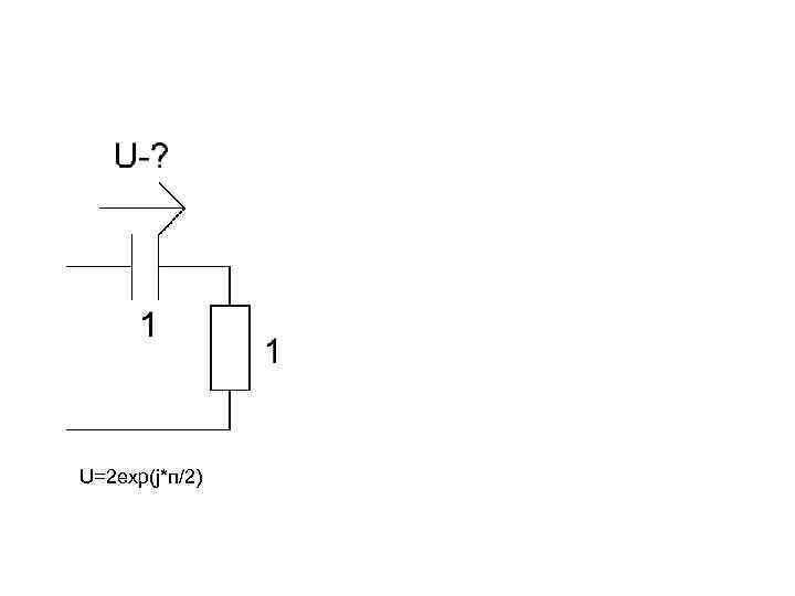 U=2 exp(j*п/2)