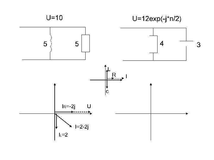 L c IR=-2 j U I=2 -2 j IL=2 R I