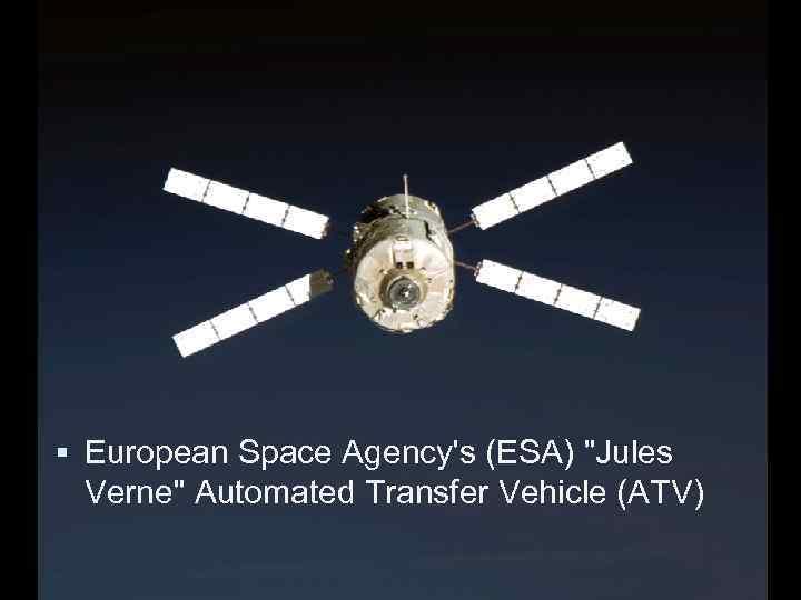 European Space Agency's (ESA)