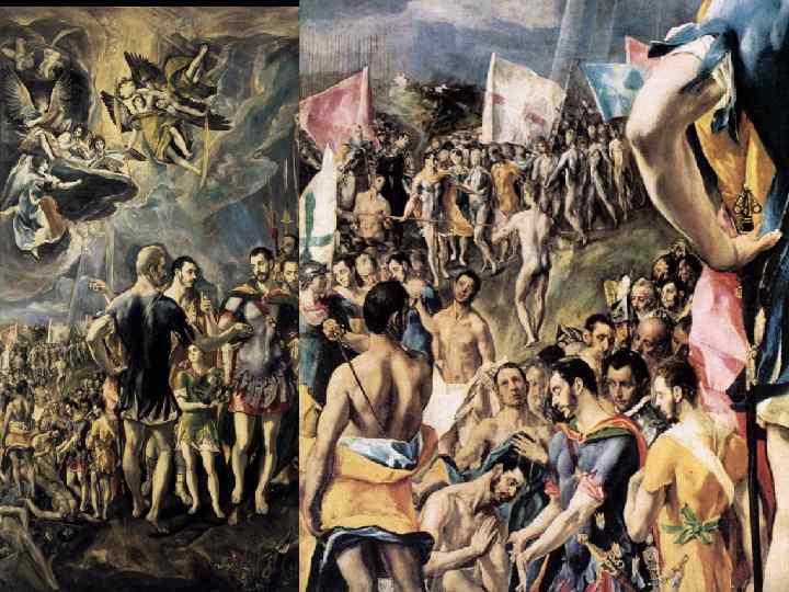 Эль Греко Мученичество св. Маврикия, 1580 -81, Эскориал