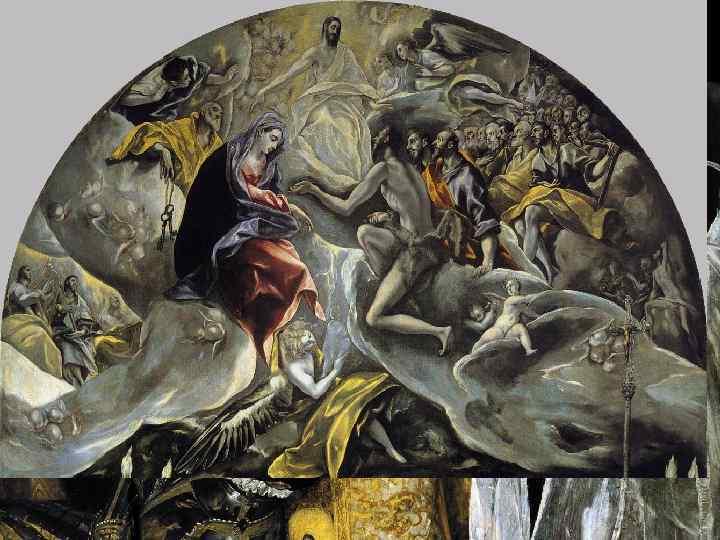 Эль Греко Похороны графа Оргаса, 1586 -1588, Толедо, Собор Сан Доме