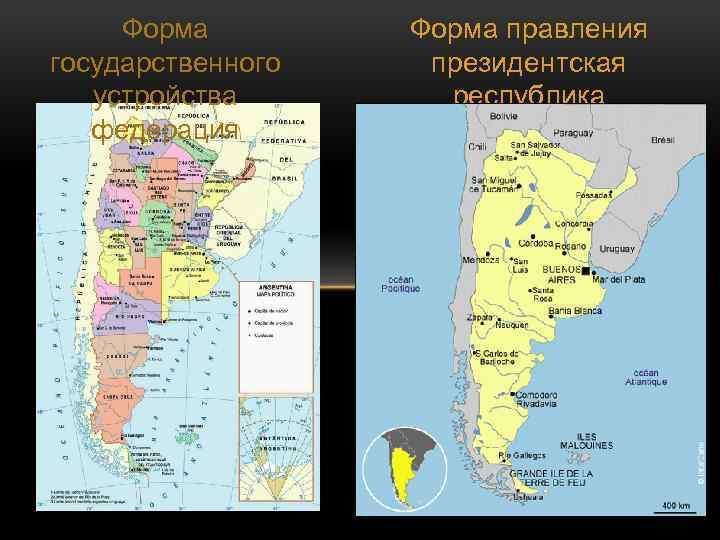 Форма государственного устройства федерация Форма правления президентская республика