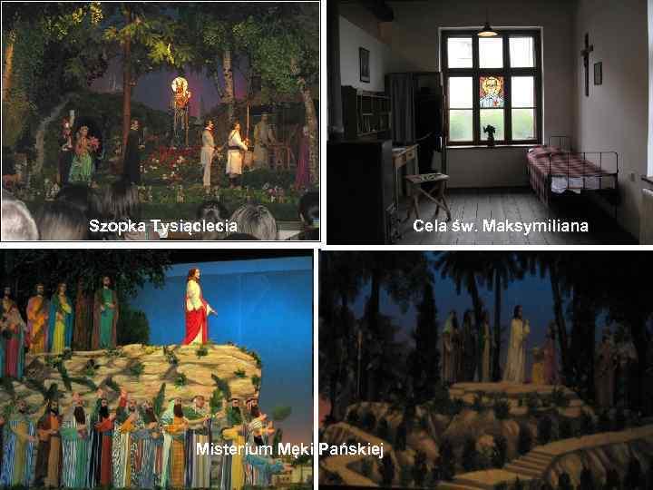Szopka Tysiąclecia Misterium Męki Pańskiej Cela św. Maksymiliana