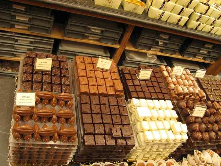 Important years for chocolate • 1829. The press invention for cocoa • 1830. Swiss