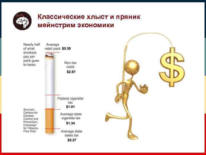 Классические хлыст и пряник мейнстрим экономики