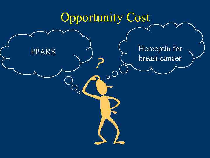 Opportunity Cost PPARS Herceptin for breast cancer