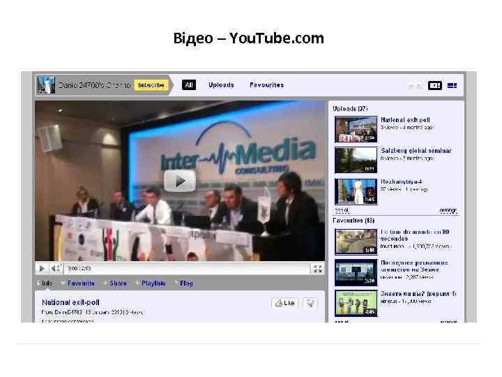 Відео – You. Tube. com