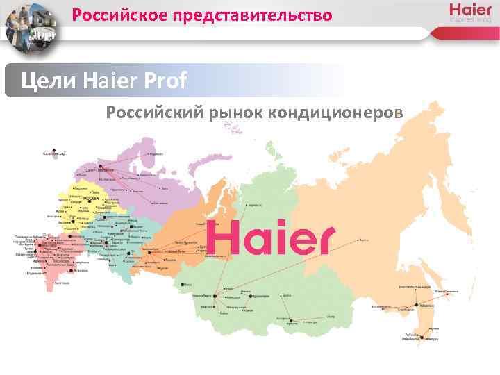 Российское представительство Цели Haier Prof Российский рынок кондиционеров