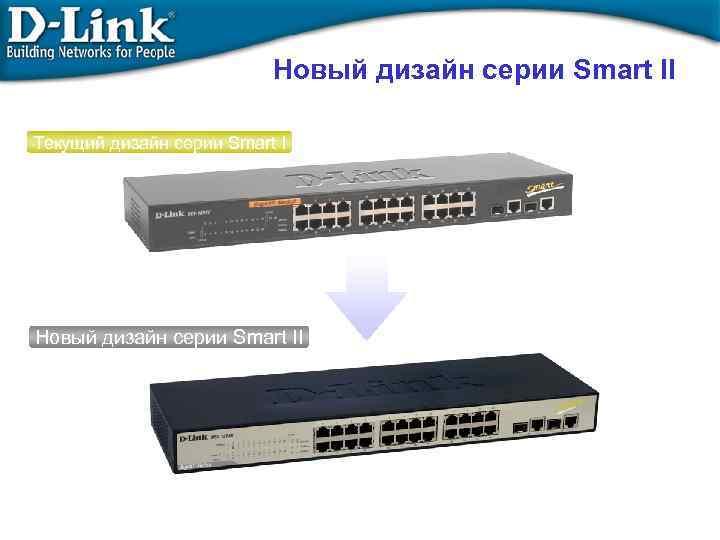 Новый дизайн серии Smart II Текущий дизайн серии Smart I Новый дизайн серии Smart