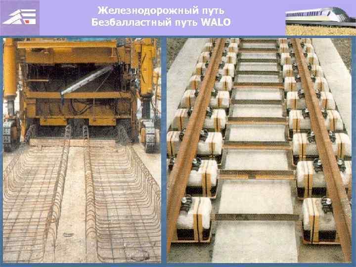 Железнодорожный путь Безбалластный путь WALO
