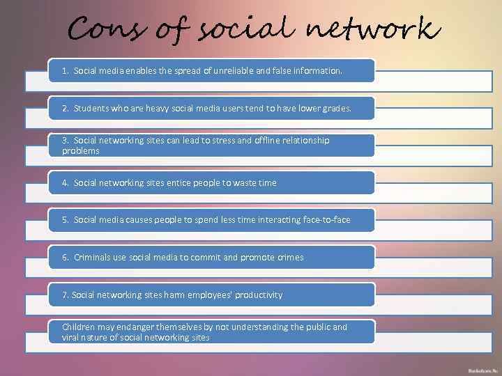 kids and social media pros and cons