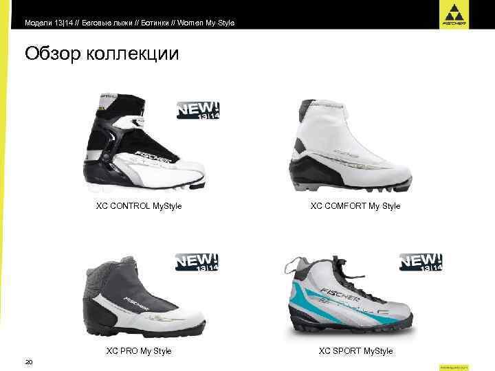 Модели 13|14 // Беговые лыжи // Ботинки // Women My Style Обзор коллекции XC