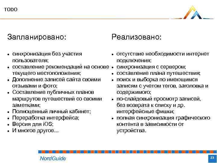 TODO Запланировано: синхронизация без участия пользователя; составление рекомендаций на основе текущего местоположения; Дополнение записей