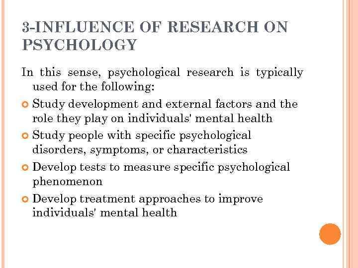 characteristics of development in psychology
