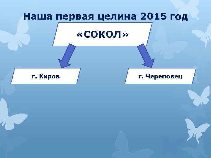 Наша первая целина 2015 год «СОКОЛ» г. Киров г. Череповец