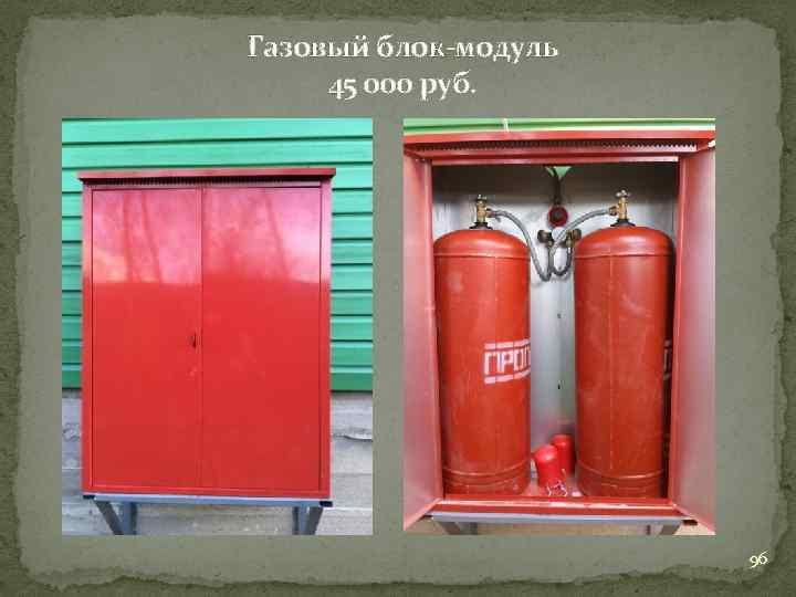 Газовый блок-модуль 45 000 руб. 96