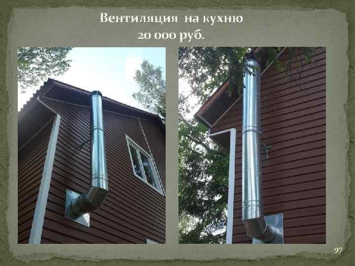 Вентиляция на кухню 20 000 руб. 97