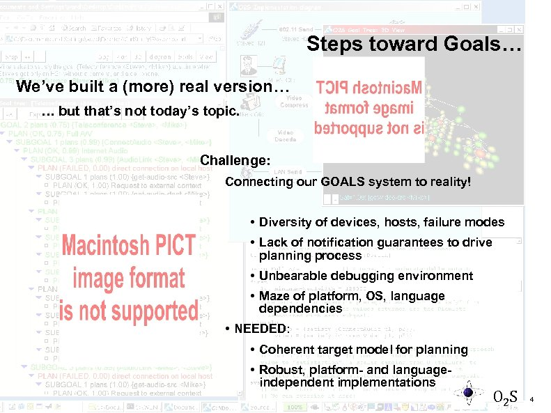 Steps toward Goals… We've built a (more) real version… … but that's not today's