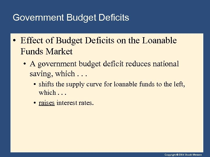 macroeco budget deficits essay Us budget, its deficit, and the national debt in five pages this tutorial discusses differing economic and political perspectives regarding america's budget, its deficit, and the impacts of the national debt.
