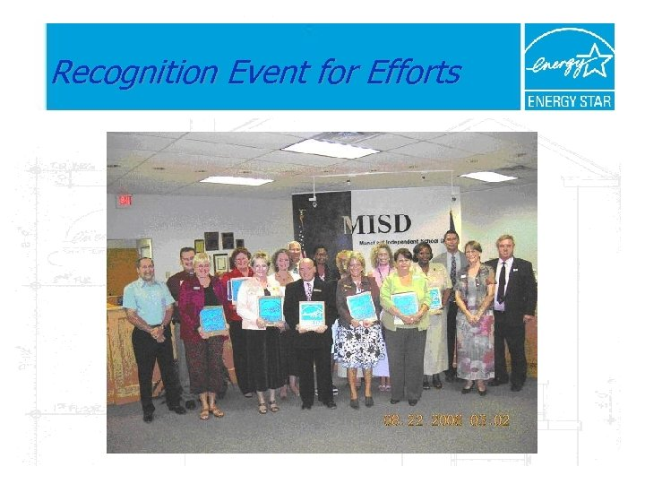 Recognition Event for Efforts