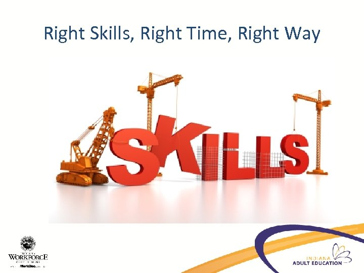 Right Skills, Right Time, Right Way