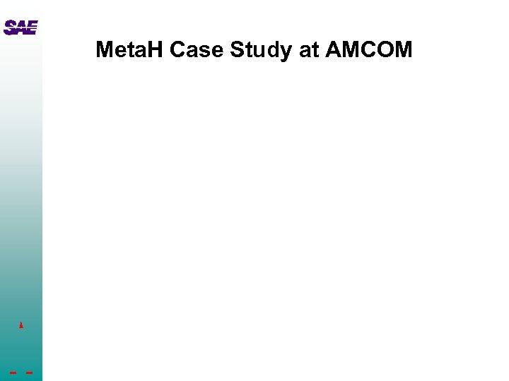 Meta. H Case Study at AMCOM