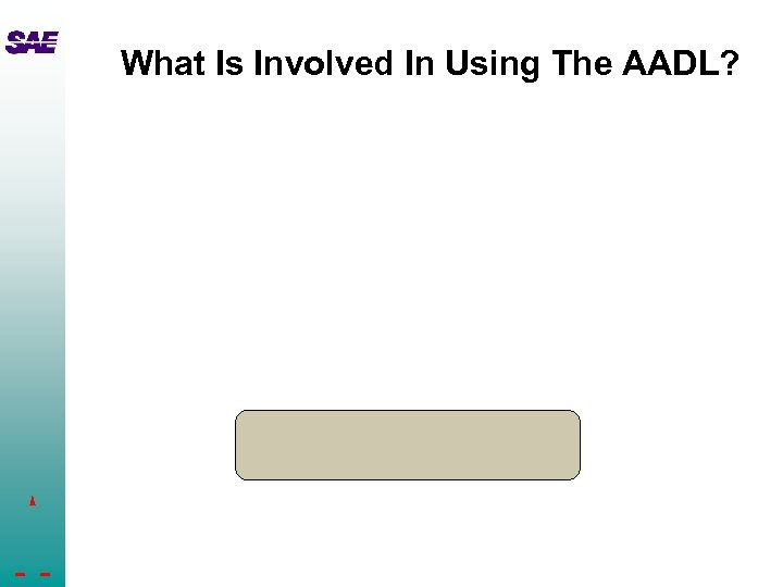 What Is Involved In Using The AADL?