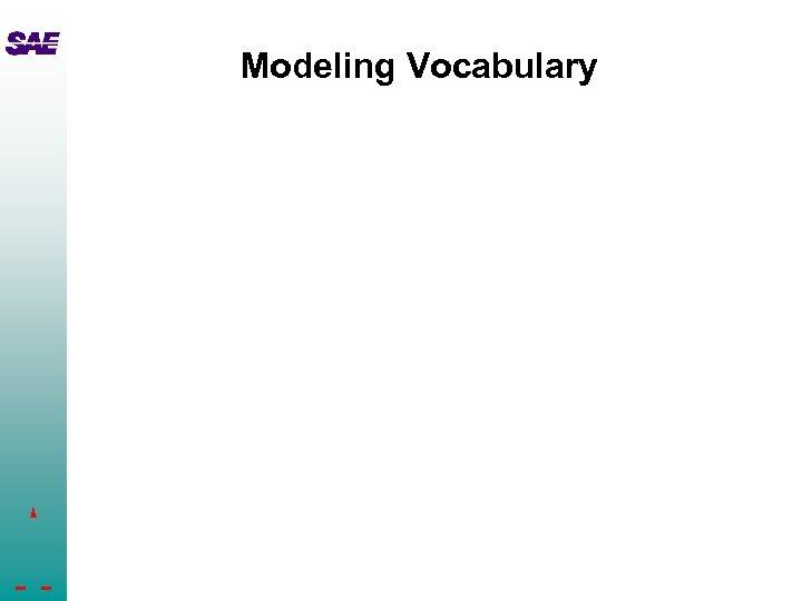Modeling Vocabulary