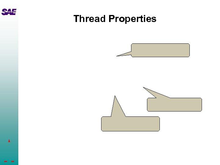 Thread Properties
