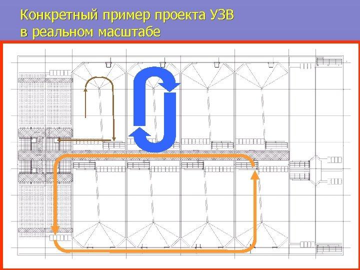 Конкретный пример проекта УЗВ в реальном масштабе
