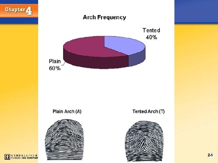 Fingerprints Chapter 4 Kendall/Hunt Publishing Company 24 24