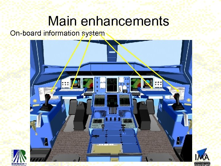 Main enhancements On-board information system 23