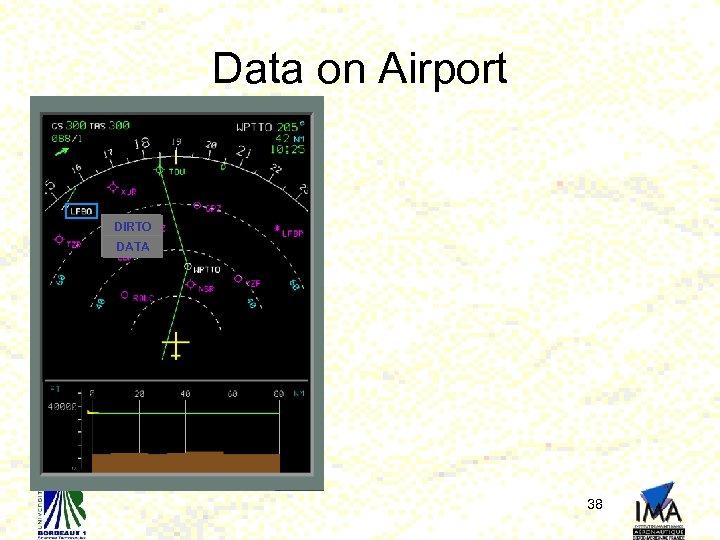 Data on Airport DIRTO DATA 38