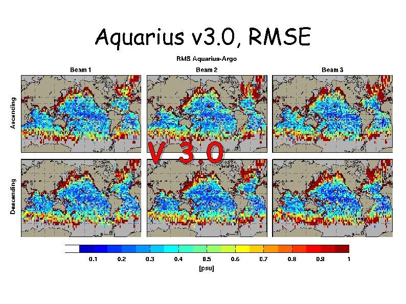 Aquarius v 3. 0, RMSE V 3. 0