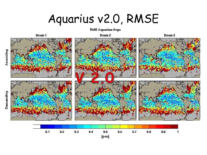 Aquarius v 2. 0, RMSE V 2. 0