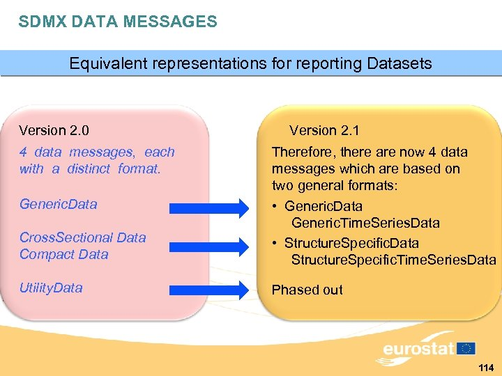 SDMX DATA MESSAGES Equivalent representations for reporting Datasets Version 2. 0 4 data messages,