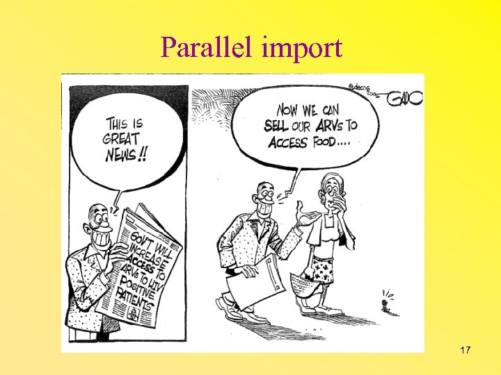 Parallel import 17
