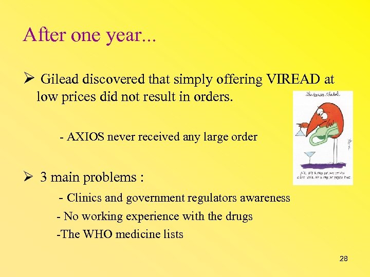 After one year. . . Gilead discovered that simply offering VIREAD at low prices