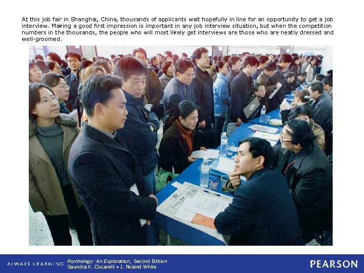 At this job fair in Shanghai, China, thousands of applicants wait hopefully in line