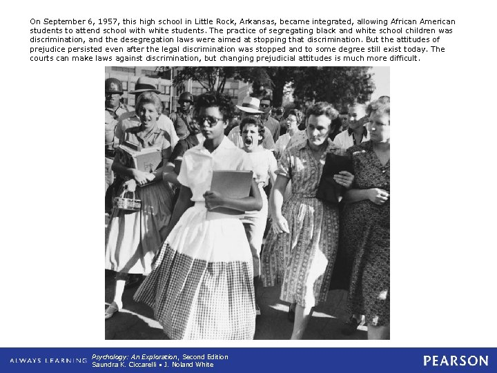 On September 6, 1957, this high school in Little Rock, Arkansas, became integrated, allowing