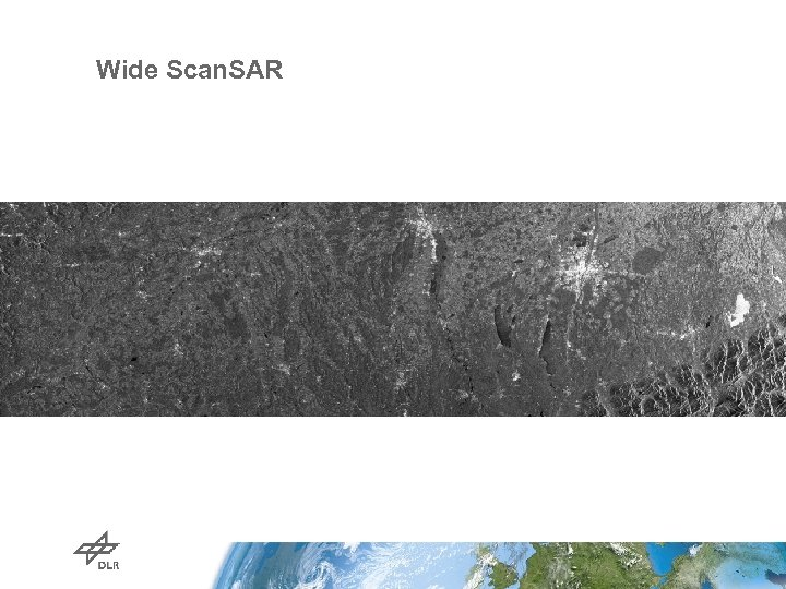 Wide Scan. SAR