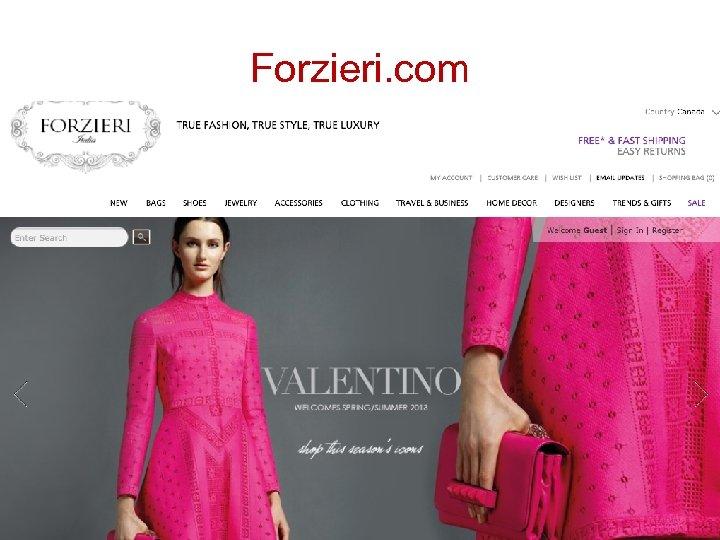 Forzieri. com